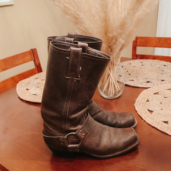 Frye Shoes - Frye 12R Harness Boots